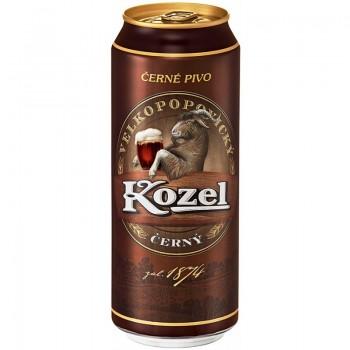 Пиво Velkopopovicky Kozel Cerny (Велкопоповицкий Козел тёмное) 0,5 л x 24 ж/б