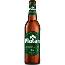 Пиво Platan JEDENACTKA 11 (Платан одиннадцать) светлое 0.5л ст.бут. / Чехия