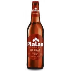 Пиво Platan GRANAT (Платан Гранат) темное 0.5л ст.бут. / Чехия