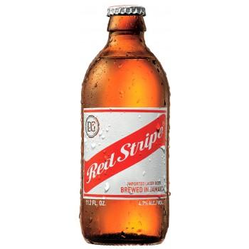 Пиво Red Stripe (Рэд Страйп) светлое фильтрованное пастеризованное 0.33 л х 24 ст.бут.