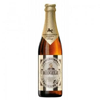 Пиво Riegele Commerzienrat Privat (Ригеле Коммерциенрат Приват) светлое фильтрованное пастеризованное 0.33 л х 24 ст.бут.