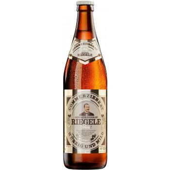 Пиво Riegele Commerzienrat Privat (Ригеле Коммерциенрат Приват) светлое фильтрованное пастеризованное 0.5 л х 20 ст.бут.