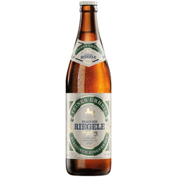 Пиво Riegele Feines Urhell (Ригеле Файнес Урхелль) светлое фильтрованное 0,5 л. х 20 ст.бут. алк.4.7 %