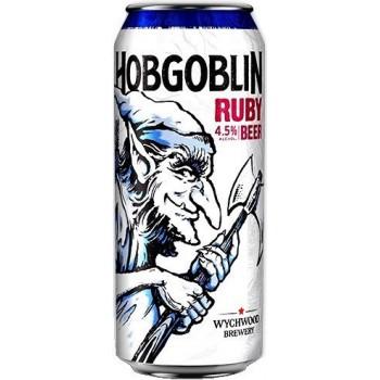 Пиво Вичвуд Hobgoblin Ruby (Хобгоблин Руби) темное 0,5 л x 24 ж/б