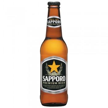 Пиво Sapporo Premium (Саппоро Премиум) светлое 0,33 л х 24 ст.бут.