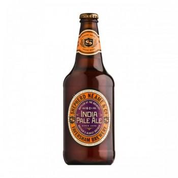 Пивной напиток Shepherd Neame India Pale Ale (Шепард ним Индийский светлый эль) 0,5 л x 8 ст.бут.
