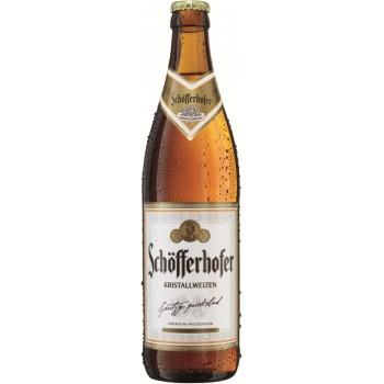 Пиво Schofferhofer Kristallweizen (Шофферхофер Кристаллвайзен) светлое фильтрованное 0,5 л x 18 ст.бут.