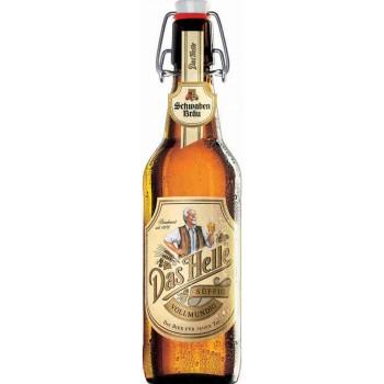 Пиво Schwaben Brau Das Helle (Швабен Брой Дас Хелле) 0,5 л x 20  ст.бут.
