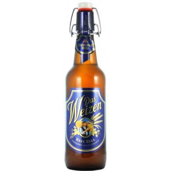 Пиво Schwaben Brau Das Weizen (Швабен Брой Дас Вайцен) 0,5 л x 20  ст.бут.