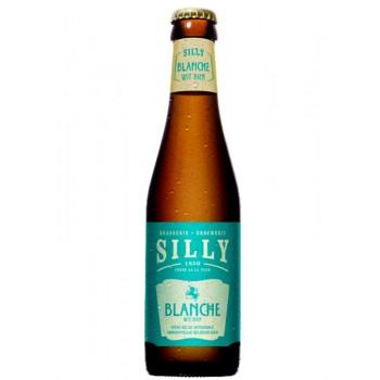 Пивной напиток Blanche de Silly (Бланш де Силли), 0,25 л  х 24 ст.бут