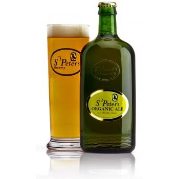 Пиво St. Peter's Organic Ale (Сейнт Питерс Органик Эль) светлое фильтрованное пастеризованное 0,5 л х 12 ст.бут.