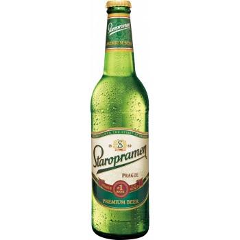 Пиво Staropramen Premium (Старопрамен Премиум) светлое 0,5 л х 20 ст.бут.