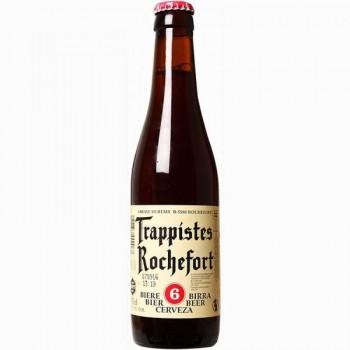 Пиво Trappistes rochefort 6 (Трапист рошфор 6) темное фильтрованное, 0,33 л х 24 ст.бут.