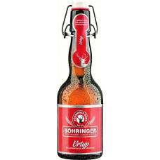 Пиво BOHRINGER Urtyp (Бохрингер Уртюп) светлое 0.33 х 20 ст.бут. алк. 5,1%