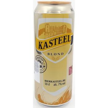Пиво Van Honsebrouck Kasteel Blond (Ван Хонзебрук Кастил БЛОНД) светлое нефильтрованное 0,5 л х 12 ж/б