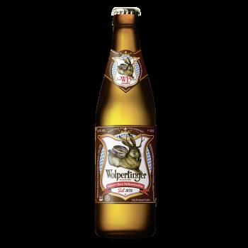 Пиво Wolpertinger Naturtrubes Hefeweissbier (Вольпертингер Пшеничное) светлое фильтрованное пастеризованное 0,5 л x 20 ст.бут.