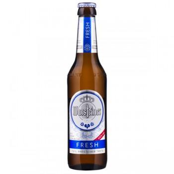 Пиво Warsteiner Fresh (Варштайнер Фреш) безалкогольное 0.33 л x 24 ст.бут.
