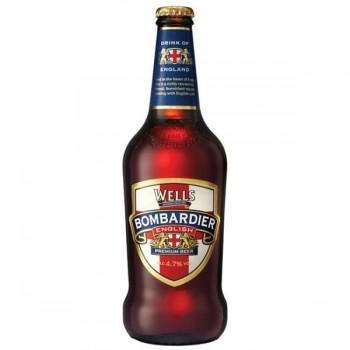 Пивной напиток Wells Bombardier (Веллс Бомбардье) 0,5 л х 8 ст.бут.