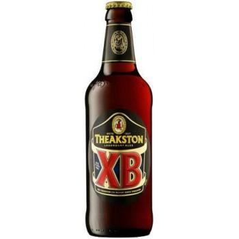 Пиво Theakston XB (Тикстон Икс Би) пастеризованное нефильтрованное темное  0,5 л х 8 ст.бут.