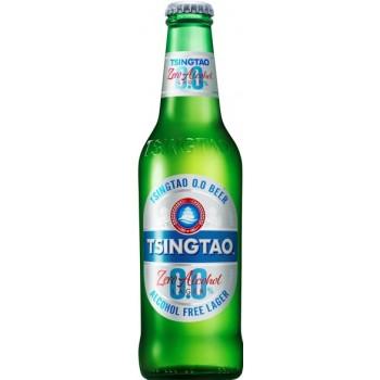 Пиво Tsingtao ZERO (Циндао ЗИРО) безалкогольное 0,33 л х 24 ст.бут.