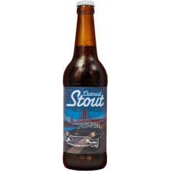 """Пиво Jaws """"Oatmeal Stout"""" (Джоус Овсяный стаут) тёмное фильтрованное 0,5 л x 20 ст.бут."""