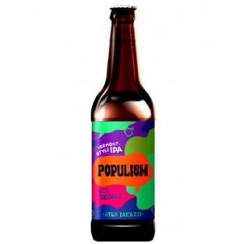 """Пиво Jaws """"Populism"""" Vic Secret ( Джоус Популизм Вик Секрет) светлое нефильтрованное 0,5 x 20 ст.бут."""