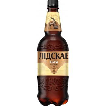 Пиво Лидское БЕЛОЕ светлое 0.9л ПЭТ