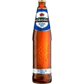 Пиво Коронет Alcohol Free безалкогольное 0,568 л х 20 бут.