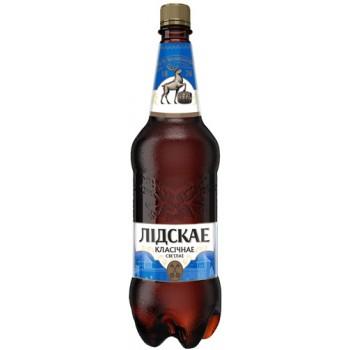 Пиво Лидское Классическое свет. паст. алк.5,2% 1,5 л. x 6 ПЭТ, Лидское пиво