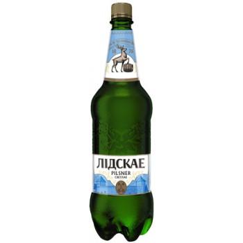 Пиво PILSNER светлое паст.4.2 % ,1.5!!! л. x 6 ПЭТ Лидское пиво
