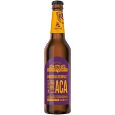 0,5 л. x 20 бут. Ameriсan Cream Ale  ст.бут  5.6% , Лидское пиво