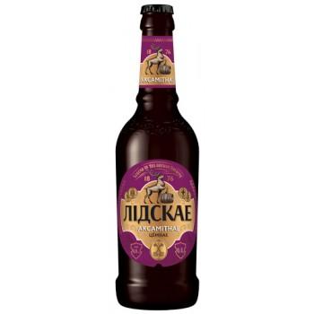 Пиво Лидское Бархатное (Аскамитнае) темное 0.4л