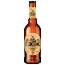 Пиво Лидское Белое (Белае) светлое 0.4л