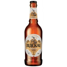 Пиво Лидское Premium (Премиум) светлое 0.4л