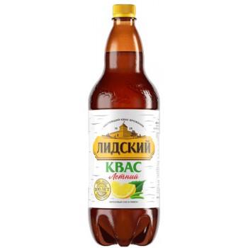 Квас Лидский Летний с березовым соком и лимоном 1.5л х 6 ПЭТ