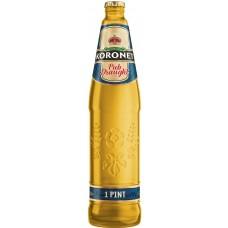 Пиво Коронет PUB DRAUGHT свет.паст 4,7 % 0,568 л. x 20 ст.бут, Лидское пиво