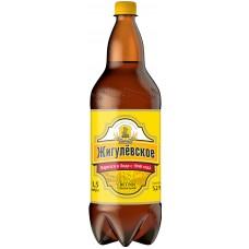 Пиво Жигулёвское спец.светлое паст. 5,2 % 1,5 л. x 6 ПЭТ, Лидское пиво