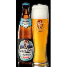 Пиво Maxlrainer Engerl Weisse Alkoholfrei (Макслрэйнэр Энгёрл Вайс безалкогольное) светлое нефильтрованное 0,5 л х 20 ст.бут.