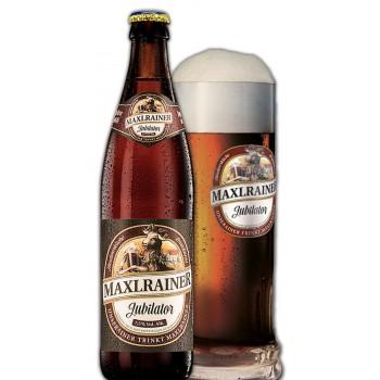 Пиво Maxlrainer Jubilator (Макслрэйнэр Джубилятор) темное фильтрованное 0,5 л х 20 ст.бут.