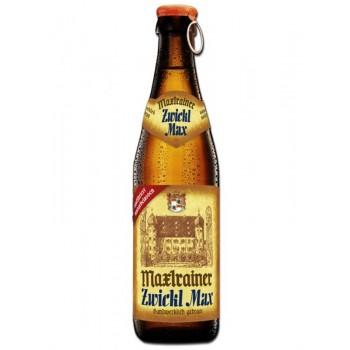 Пиво Maxlrainer Zwickl Max (Макслрэйнэр Цвикл Макс) светлое нефильтрованное 0,33 л х 24 ст.бут.