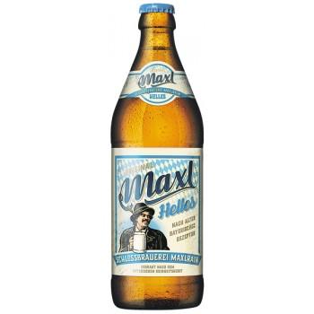 Пиво MAXL HELLES (Максл Хеллес) светлое 0.5л