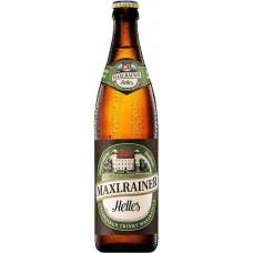 Пиво Maxlrainer Helles (Макслрэйнэр Хеллес) светлое фильтрованное 0,5 л х 20 ст.бут.