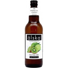 Сидр Alska KIWI Lime (Альска киви и лайм), 0.5 л х 12 ст.бут. алк. 4.0%