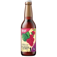 Медовуха яблочная ФЁST Raspberries and Mint (Фест с Малиной и Мятой) 0,5 л х 6 ст.бут.