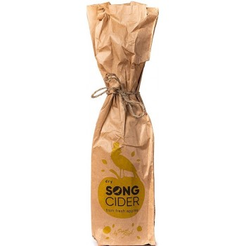 Сидр SONG CIDER (Сонг сидр  яблочный сухой) 0,75 л x 12 ст.бут
