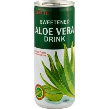 Напиток Lotte Aloe Vera (Лотте Алоэ Вера) 0,24 л x 30 ж/б
