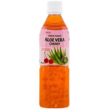 Напиток Lotte Aloe Vera Cherry (Лотте Алоэ Вера Вишня) 0,5 л x 20 ПЭТ