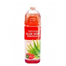 Напиток Lotte Aloe Vera Pomegranate (Лотте Алоэ Вера Гранат) 1,5 л x 12 ПЭТ