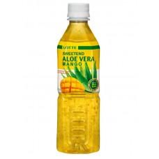 Напиток Lotte Aloe Vera Mango (Лотте Алоэ Вера Манго) 0,5 л x 20 ПЭТ