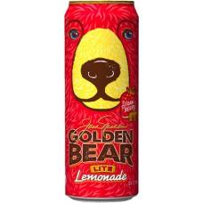 Напиток ARIZONA GOLDEN BEAR LITE LEMONADE STRAWBERRY 0,680 x 24 ж/б (США)